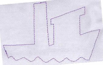 ... é usado para cortar o tecido. Isto garante um encaixe perfeito e  permite que o zig-zag que vai cobrir as bordas do tecido seja mais estreito  e delicado. 57a14047cf0