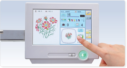 Painel Touchscreen